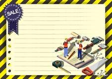 Creatief het Document van de de Vliegerbrochure van het bouwmalplaatje Vectorontwerpmalplaatje stock illustratie