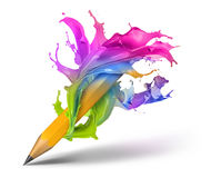 Creatief het Schrijven Concept royalty-vrije illustratie
