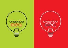 Creatief idee stock afbeeldingen