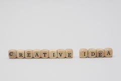 Creatief idee Stock Fotografie