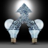 Creatief Innovatiesucces Royalty-vrije Stock Foto's