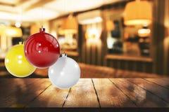 Creatief Kerstmisbehang stock illustratie