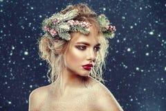 Creatief Kerstmiskapsel Royalty-vrije Stock Afbeeldingen
