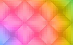 Creatief kleurrijk kristal zoals abstracte achtergrond stock illustratie