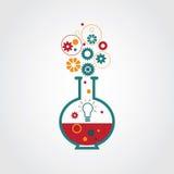 Creatief laboratorium Stock Illustratie