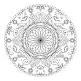 Creatief ornament op witte achtergrond royalty-vrije stock afbeelding