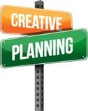 Creatief planningsteken stock illustratie