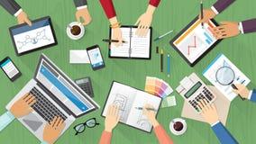 Creatief Team Stock Afbeeldingen