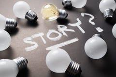 Creatief Verhaal stock fotografie
