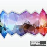 Creatieve abstracte concepten abstracte vector kleurrijke achtergrond Stock Foto's