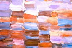 Creatieve abstracte hand geschilderde achtergrond, behang, textuur Abstracte samenstelling royalty-vrije illustratie