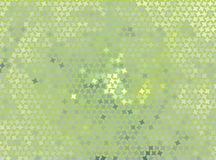 Creatieve abstracte illustratie met sterren Bevlekt halftone effect Het vector Art Stock Afbeeldingen