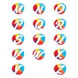 Creatieve alfabetbrieven Stock Fotografie