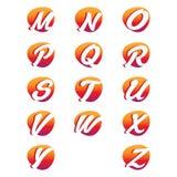 Creatieve alfabetbrieven Royalty-vrije Stock Afbeelding