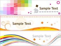 Creatieve banner Stock Foto's