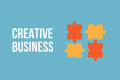 Creatieve bedrijfsconceptenachtergrond vector illustratie