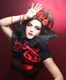 Creatieve dame. Royalty-vrije Stock Foto's