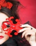 Creatieve dame Royalty-vrije Stock Afbeeldingen