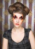 Creatieve dame Stock Foto's