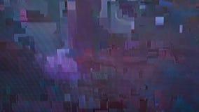 Creatieve die illustratie van TV-het schermglitch lawaaitextuur op transparante achtergrond wordt geïsoleerd Het ontwerp van de k vector illustratie