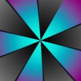 Creatieve digitale veelkleurige cirkelsamenvatting royalty-vrije illustratie