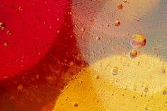 Creatieve en abstracte die watercondensations vatten achtergrond samen bij close-upvergroting wordt genomen op korrelige en kleur stock afbeeldingen