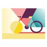 Creatieve fiets royalty-vrije stock fotografie