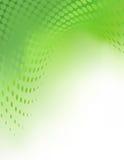 Creatieve Groene Abstracte Achtergrond Tempate Stock Afbeelding