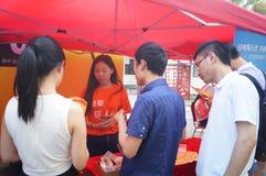 Creatieve het parkactiviteiten van de Shenzhenf518 manier Royalty-vrije Stock Foto