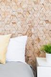 Creatieve houten muur Royalty-vrije Stock Foto's