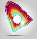 De abstracte achtergrond van het kunstkader Stock Fotografie