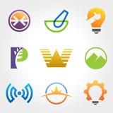 Creatieve Inzamelingen van Logo Design Royalty-vrije Stock Fotografie