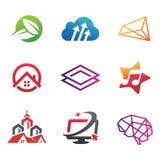 Creatieve Inzamelingen van Logo Design Royalty-vrije Stock Foto's