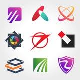 Creatieve Inzamelingen van Logo Design ver 1 Stock Foto's