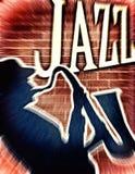 Creatieve jazzachtergrond Stock Afbeelding