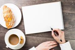 Creatieve koffiepauze Royalty-vrije Stock Afbeelding