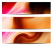 Creatieve kopbal/bannerreeks Stock Afbeelding