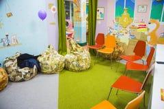 Creatieve les voor kinderen en hun ouders Stock Foto