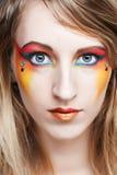 Creatieve make-up. Stock Fotografie