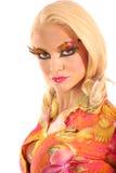 Creatieve make-up royalty-vrije stock foto