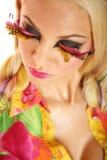 Creatieve make-up stock afbeeldingen
