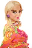 Creatieve make-up stock fotografie
