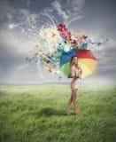 Creatieve manier stock fotografie