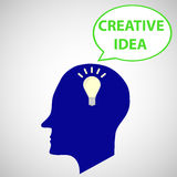 Creatieve mening Royalty-vrije Stock Afbeelding