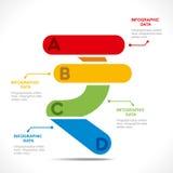 Creatieve munt informatie-grafiek stock illustratie