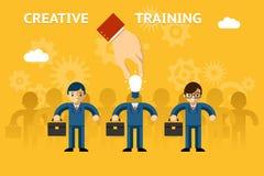 Creatieve opleiding stock illustratie