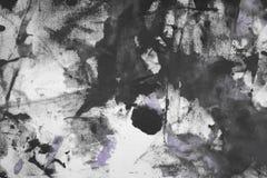 Creatieve oude purple schilderde canvas, willekeurig stof met de vlekken van de kleurenverf en vlekkentextuur voor gebruik als ac royalty-vrije stock afbeeldingen