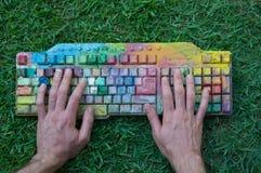 Creatieve programmering Stock Foto's