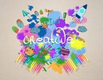 Creatieve schets royalty-vrije stock foto