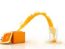 Creatieve sinaasappel royalty-vrije stock foto's